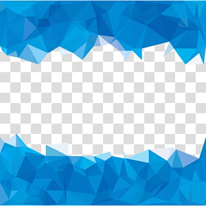 Abstração de polígono azul, polígonos azul-céu abstraem ilustração de fundo, cerceta e azul png