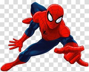 Marvel Spider-Man illustration, Ultimate Spider-Man Iron Man Marvel Comics Decalque em parede, homem aranha png
