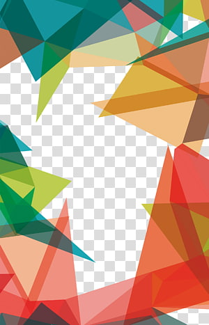plano de fundo multicolorido, padrão geométrico triângulo, padrões geométricos PNG clipart