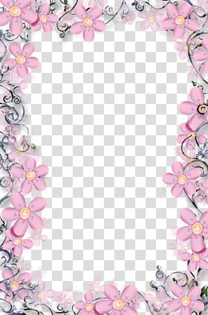 Moldura floral, modelo de moldura floral, arranjo de flores rosa png