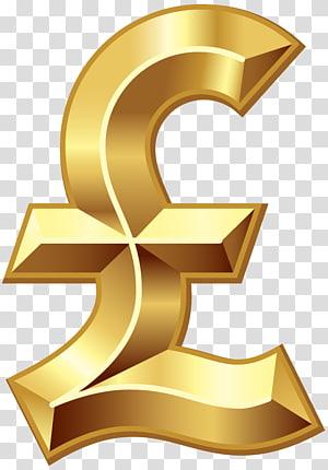 Moeda de euro, Libra esterlina Cifrão Libra sinal Símbolo da moeda, Libra esterlina png