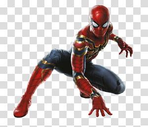 homem-aranha, homem-aranha homem-ferro hulk thanos capitão américa, homem-aranha png