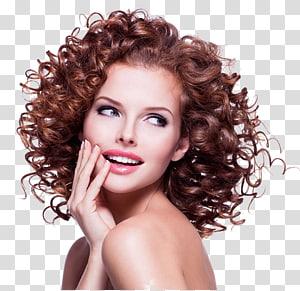 mulher com cabelos cacheados, cuidados com os cabelos The Lounge Hair Studio Hairstyle Frizz, mapa lindo encaracolado PNG clipart