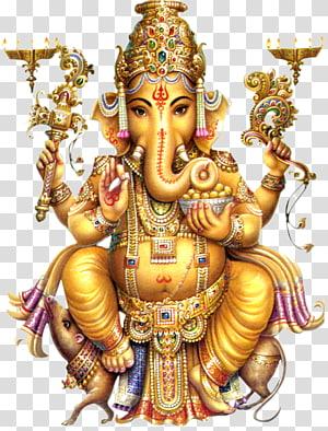 ilustração de ganesha senhor, ganesha shiva parvati divindade de hinduísmo, ganesha PNG clipart