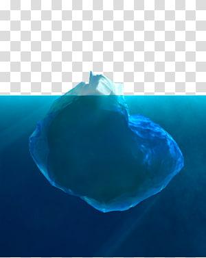 Iceberg subaquático, iceberg subaquático PNG clipart