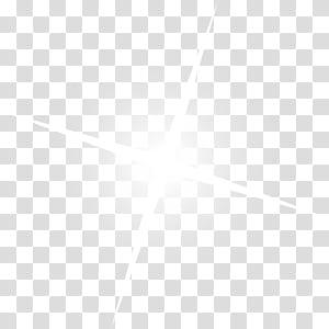 Estrelas brilhantes brancas PNG clipart
