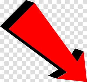 Seta de área de trabalho, seta vermelha, ilustração de sinal de seta vermelha png