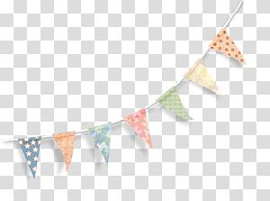 buntings multicoloridos, Trigonometria de fita triangular, Triângulo flutuante de fitas PNG clipart