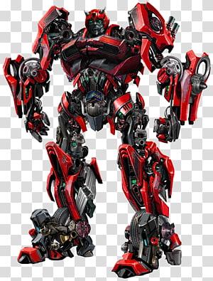 Transformers, personagem de arte vermelha, Bumblebee Optimus Prime Transformers Autobot Robot, transformadores png