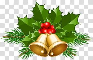 Jingle bell Christmas, grandes sinos de Natal, sinos de Natal de ouro PNG clipart