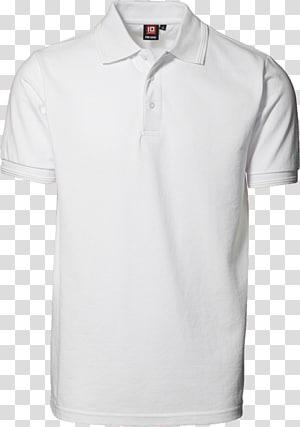 camisa polo branca de meio-botão, t-shirt camisa polo piqué clothing workwear, camisa polo branca PNG clipart