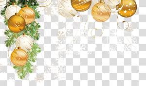 Bauble Natal, Enfeite de Natal Árvore de Natal Papai Noel Decoração de Natal, Natal criativo png