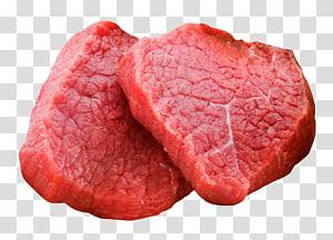 duas carnes cruas, carne vermelha, carne de bovino, carne PNG clipart