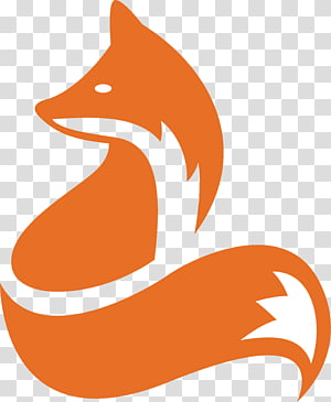 arte de raposa laranja e branca, ícone do design Ícone do logotipo, design do ícone de raposa png