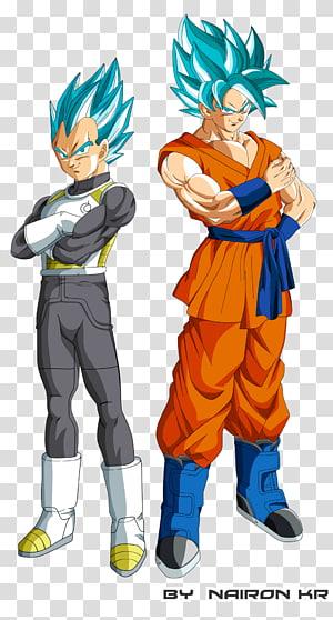 Goku Vegeta Gohan Freeza Dragon Ball, Dragon Ball Super, Super Saiyajin Goku e Vegeta ilustração png