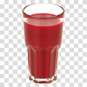 copo de vidro transparente cheio de líquido vermelho, suco de morango Suco de vegetais Bebida, suco de beterraba vermelha PNG clipart