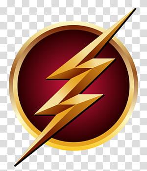 The Flash Logo Adesivo de super-herói, Flash, DC O logotipo do Flash png