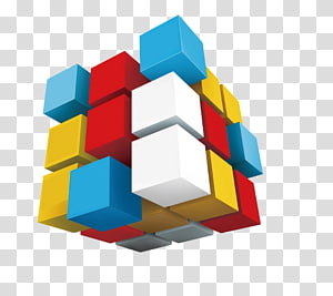 Arte do cubo de Rubik 3x3, Cubo de desenvolvimento Web, Cubo de Rubik PNG clipart
