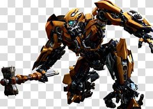 Bumblebee Optimus Prime Transformers resolução 4K 720p, transformador png