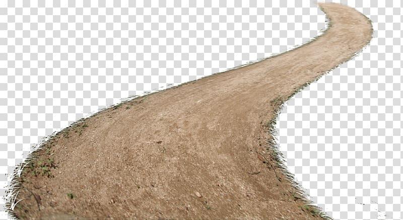Elemento químico Elemento coletando desenhos animados, estradas de terra, estrada rural, caminho, tráfego, da estrada marrom png