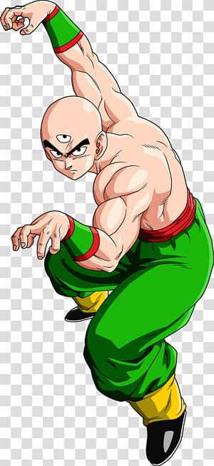 Dragon Ball Z Tien Shinhan, Tien Shinhan Goku Vegeta Kuririn Yamcha, Dragon Ball Z png