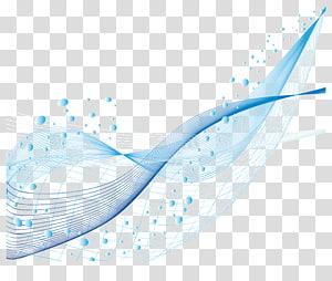 Ponto Euclidiano, material de linhas criativas, azul PNG clipart