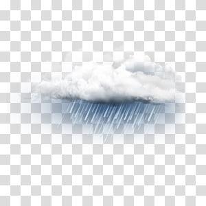 nuvem com ilustração de chuva, céu padrão de close-up, nuvem de chuva PNG clipart
