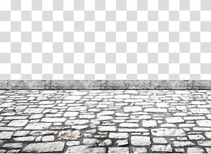 caminho de concreto cinza e branco no dia, seixo da rocha, estrada, estrada de pedra png