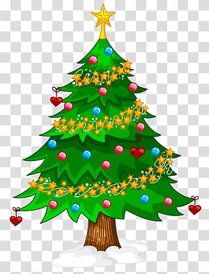 ilustração de árvore de Natal verde, árvore de Natal artificial, árvore de Natal PNG clipart