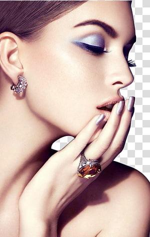 Rosto cosméticos moda maquiagem sombra, moda maquiagem rosto feminino closeup, mulher tomando selfie PNG clipart