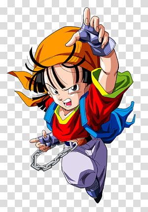 Dragon Ball Z Pan, Pan Gohan Vegeta Troncos Goku, dragon ball z png