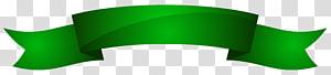 Fita verde cor, faixa verde, ilustração de fita verde PNG clipart
