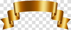 ilustração de fita de ouro, ouro, luxo dourado banner grátis png
