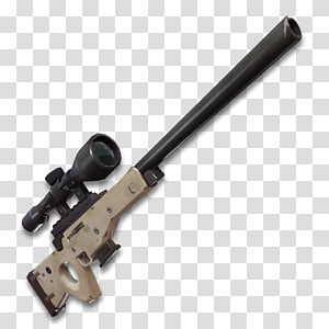 ilustração de rifle sniper marrom e preto, fortnite batalha royale parafuso rifle sniper ação, rifle sniper png