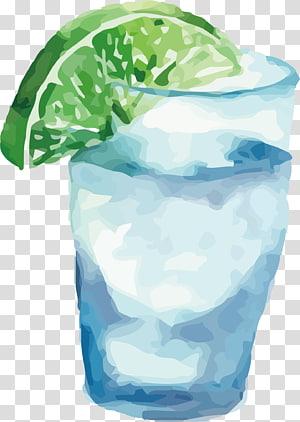 Beber suco, Aguarela Bebida png