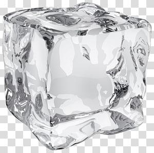 ilustração de cubo de gelo, cubo de gelo, cubo de gelo PNG clipart