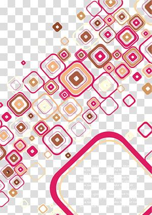 padrão de cartaz, modelo de cartaz abstrato colorido padrão PNG clipart