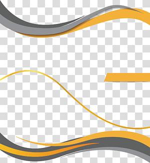 modelo de quadro laranja e preto, fundo irregular da curva PNG clipart