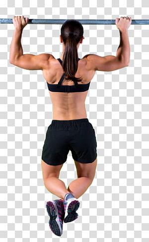 Academia de ginástica pull-up Exercício físico Chin-up Flexões de braço png