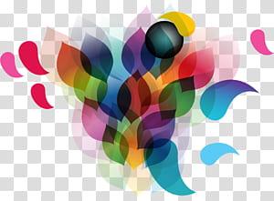 Geometria euclidiana Adobe Illustrator Line, abstrato, multicolorido png