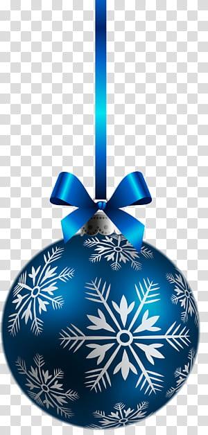 Enfeite de natal Decoração de natal, enfeite de bola de Natal azul grande, bugiganga azul e branca png