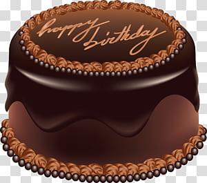 Bolo De Aniversário Bolo De Chocolate, Bolo De Chocolate png
