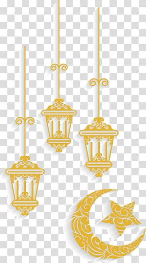Padrões geométricos islâmicos Ornamento, ornamentos de Islã, ilustração branca e amarela PNG clipart