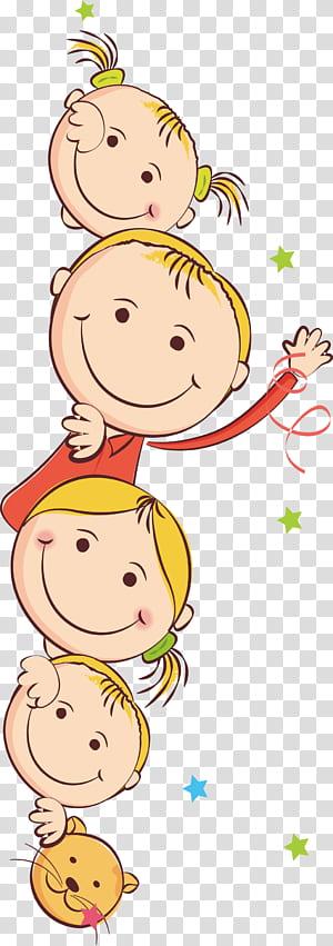 Criança, crianças dos desenhos animados, ilustração de meninas PNG clipart