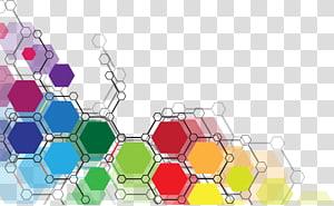 pintura abstrata, linha poligonal cadeia de geometria, polilinha geométrica abstrata colorida PNG clipart