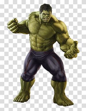 a incrível ilustração de hulk, hulk guerra visão de máquina homem de ferro, hulk PNG clipart