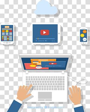 pessoa, segurando, computador tablet, ilustração, desenvolvimento software, software teste software desenvolvedor software móvel, desenvolvimento, laptop PNG clipart