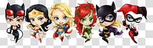 Harley Quinn super-herói super-herói Chibi, harley quinn png