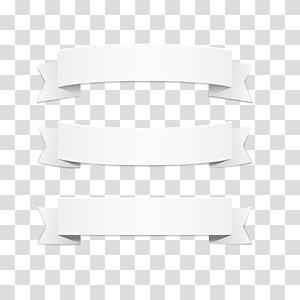 Padrão branco, fita branca, três fitas brancas png