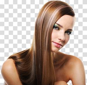 mulher tomando selfie, penteado cabelo longo integrações de cabelo artificial loiros, europeus e americanos modelos PNG clipart